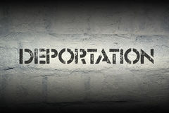 Deportation Royalty Free Stock Photography