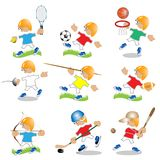 Deporte ilustración del vector