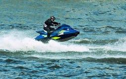 Deporte de agua del esquí del jet Imagen de archivo libre de regalías