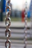 Deporte de cadena del hierro Fotografía de archivo