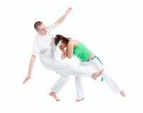 Deporte de contacto. Capoeira. Imagen de archivo