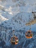 Deporte de Extreeme en las montan@as europeas Foto de archivo libre de regalías