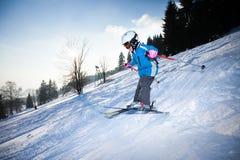 Deporte de invierno foto de archivo libre de regalías