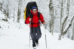 Deporte de invierno Fotos de archivo libres de regalías