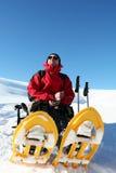 Deporte de invierno Fotografía de archivo libre de regalías