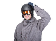Deporte de invierno Imagen de archivo libre de regalías