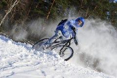 Deporte de invierno extremo Fotografía de archivo libre de regalías