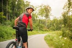 Deporte de la bicicleta Fotos de archivo libres de regalías
