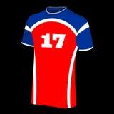 Deporte de la camiseta Fotografía de archivo
