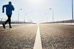 Deporte de la mañana Foto de archivo libre de regalías