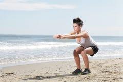 Deporte de la mujer Fotos de archivo