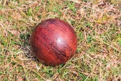 Deporte de madera de la bola Imagen de archivo libre de regalías