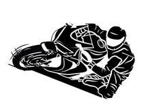 Deporte de Moto stock de ilustración