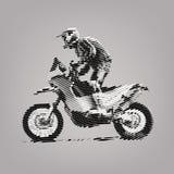 Deporte de Moto Emblema del deporte libre illustration
