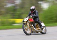 Deporte de Motosacoche 420 de la moto de la vendimia a partir de 1932 Fotografía de archivo