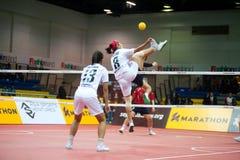 Deporte de Sepaktakrew. Fotos de archivo