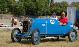 Deporte del automóvil descubierto de Salmson S4 Imagenes de archivo