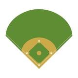 Deporte del béisbol del diamante del campo Imagenes de archivo