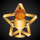 Deporte del baloncesto Foto de archivo libre de regalías