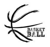 Deporte del baloncesto ilustración del vector