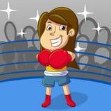 Deporte del boxeo Imagen de archivo libre de regalías
