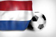 Deporte del fútbol ilustración del vector