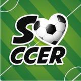 Deporte del fútbol Imágenes de archivo libres de regalías