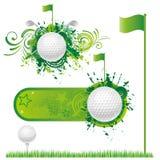 deporte del golf stock de ilustración
