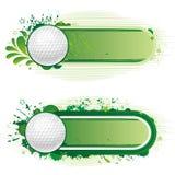 deporte del golf ilustración del vector