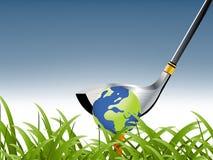 Deporte del golf Fotografía de archivo libre de regalías