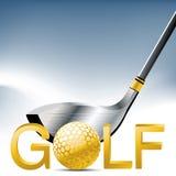 Deporte del golf Foto de archivo libre de regalías