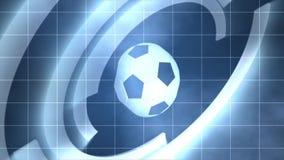 Deporte del juego de pelota del fútbol stock de ilustración