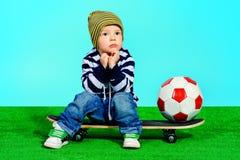 Deporte del niño Fotos de archivo libres de regalías