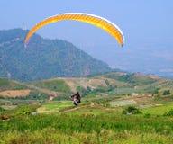 Deporte del Paragliding Foto de archivo