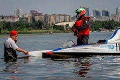 Deporte del Powerboat Fotografía de archivo libre de regalías