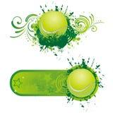 deporte del tenis stock de ilustración