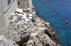 Deporte e historia (Dubrovnik, Croacia) imagen de archivo libre de regalías