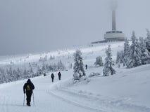 Deporte en invierno Fotos de archivo libres de regalías