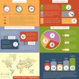 Deporte extremo infographic libre illustration