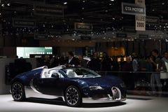 Deporte magnífico 2011 de Bugatti del â de la demostración de motor de Ginebra Foto de archivo