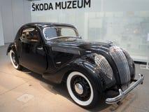 Deporte popular de Skoda - Monte Carlo - coche del veterano Foto de archivo