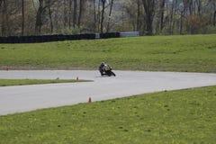 Deporte que compite con la bici imagen de archivo