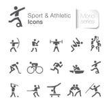 Deporte y pictograma relacionado atlético libre illustration