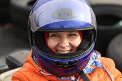 Deporte y reconstrucción populares de la pista de Karting Imagen de archivo