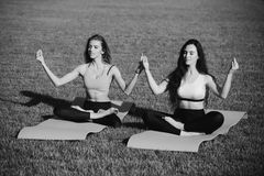 Deporte y yoga fotos de archivo libres de regalías