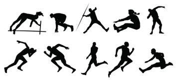 Deportes atléticos Imagen de archivo libre de regalías