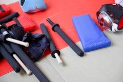 Deportes Chanbara Fotografía de archivo libre de regalías