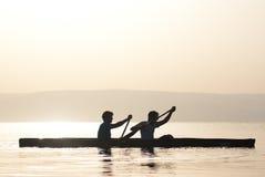 Deportes de agua Imagen de archivo libre de regalías