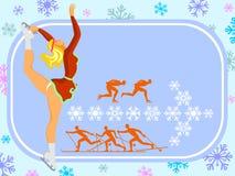 Deportes de invierno Fotos de archivo