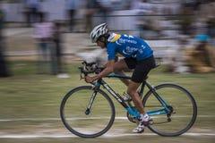 Deportes de la bicicleta Foto de archivo